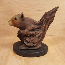 Load Image into Gallery Viewer, BILL VERNON Limited Edition SQUIRREL SCULPTURE Figurine ~ Tree Keeper