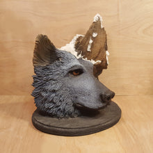 Load Image into Gallery Viewer, BILL VERNON Limited Edition WOLF SCULPTURE Figurine ~ Night Spirit