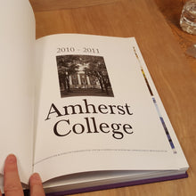 Load Image into Gallery Viewer, 2011 AMHERST COLLEGE YEARBOOK ~ Olio 1st Ed Approx 250 pgs