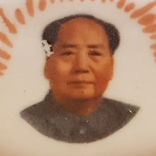 "Load Image into Gallery Viewer, Vintage Chairman MAO PORTRAIT PORCELAIN 3"" TEAPOT ~ Chinese Cultural Revolution"