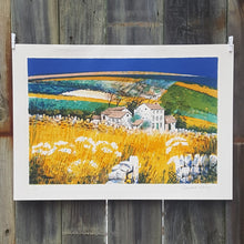 Load Image into Gallery Viewer, SIGNED EDWARD RIPLEY ~ LITHOGRAPH Art Print ~ Farm House LANDSCAPE *