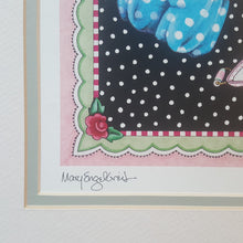 "Load Image into Gallery Viewer, SIGNED Numbered Art PRINT ~ MARY ENGELBREIT ~ PAPER DOLLS ~ 26 x 21"" *"