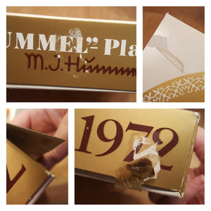 Vintage SET of 7 HUMMEL Annual PLATE 1972-1975, 1977-1979 1st Edition in BOX *