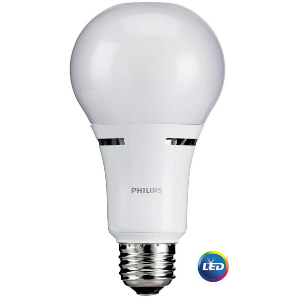 PHILIPS 75-WATT EQUIVALENT SOFT WHITE A-21 LED (6-PACK) image 2558810325051