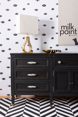 Little Black Dress - milk paint by Fusion