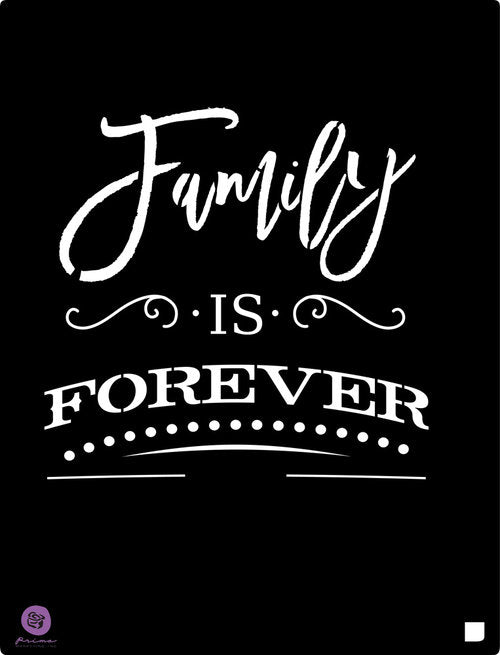 Redesign Stencil - Family Is Forever