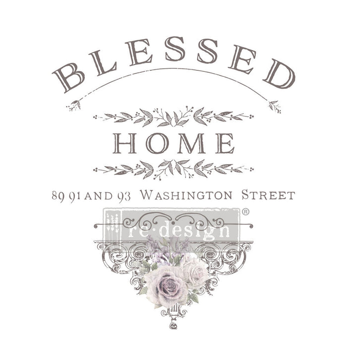 Redesign Transfer - Blessed Home