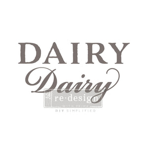 Redesign Transfer - Dairy