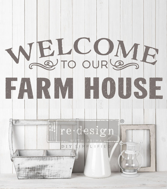 Redesign Transfer - Our Farmhouse