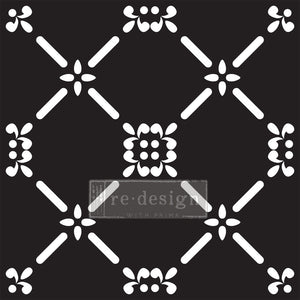 Redesign Paver Stencil - French Dame