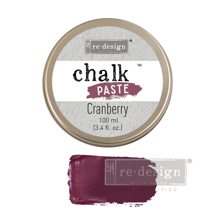 Redesign Chalk Paste - Cranberry