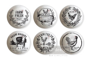 Redesign Knob Transfer - Farmhouse Delight