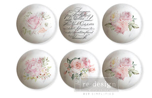 Redesign Knob Transfer - May Flowers