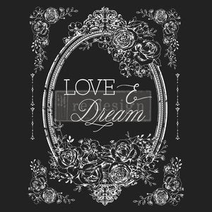 Redesign Decor Transfer - Love & Dream
