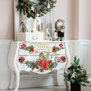 Redesign Decor Transfer - Christmas Greetings