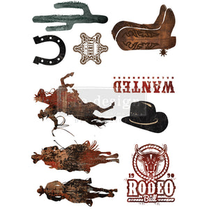 Redesign Decor Transfer - Rodeo