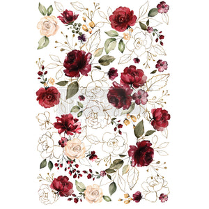 Redesign Decor Transfer - Midnight Floral