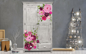 Redesign Decor Transfer - Lush Floral I