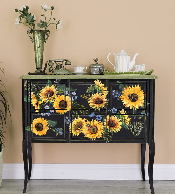 Redesign Decor Transfer - Sunflower Fields