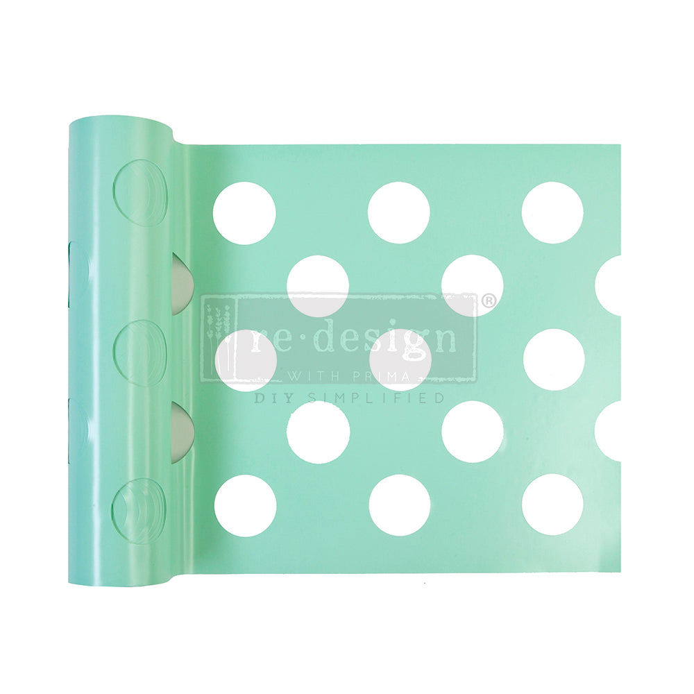 Redesign Stick & Style Stencil Roll - Multi-Large Dot