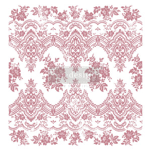 Redesign Decor Clear-Cling Stamps - Vintage Wallpaper