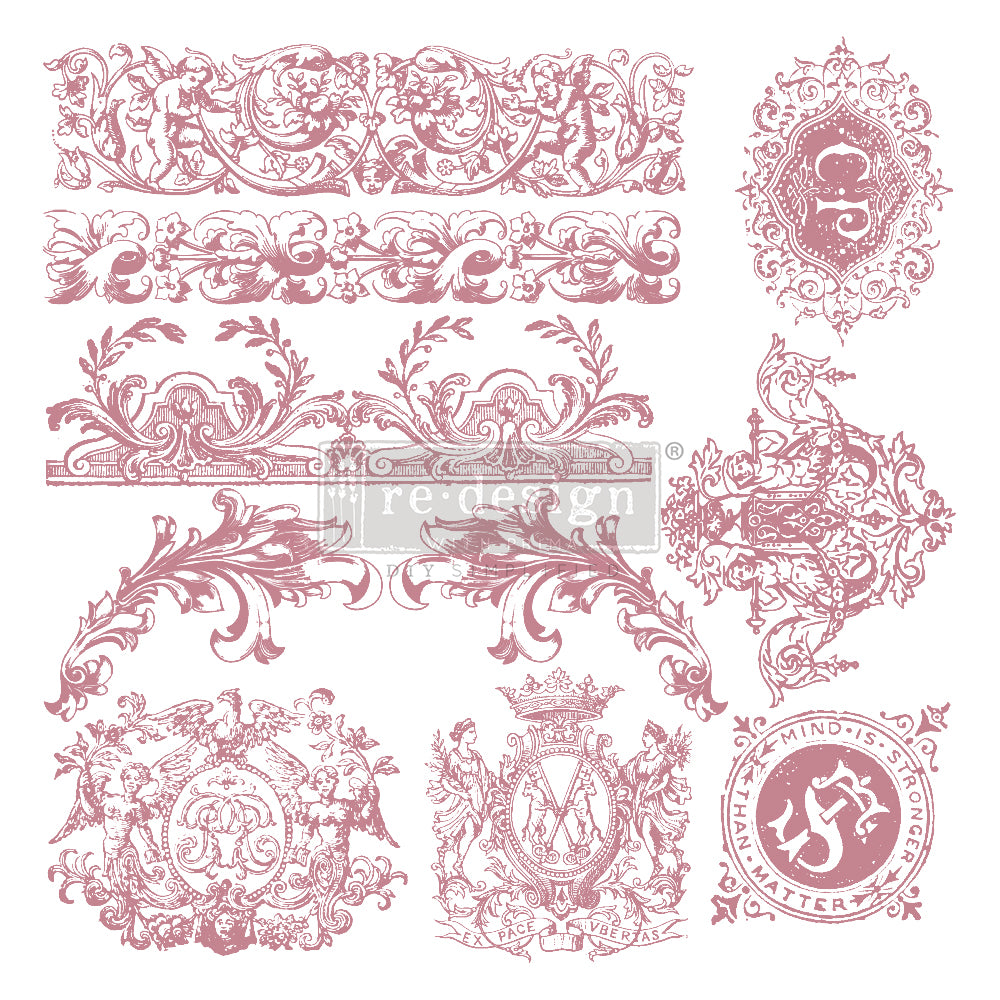 Redesign Decor Clear-Cling Stamps - Chateau De Saverne