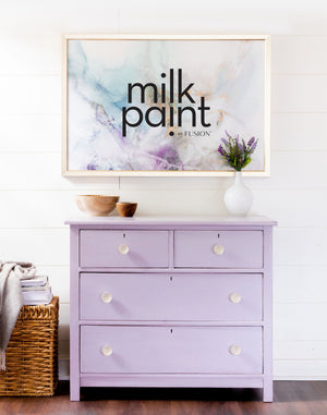 Wisteria Row - milk paint by Fusion
