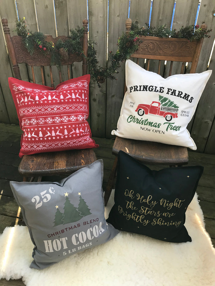 Set of Festive Accent Pillows – Nov 8, 2018