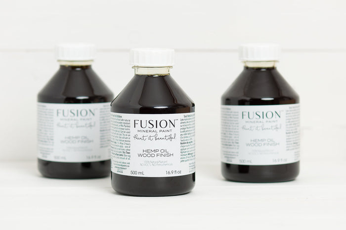 Hemp Oil Wood Finish - Fusion Mineral Paint