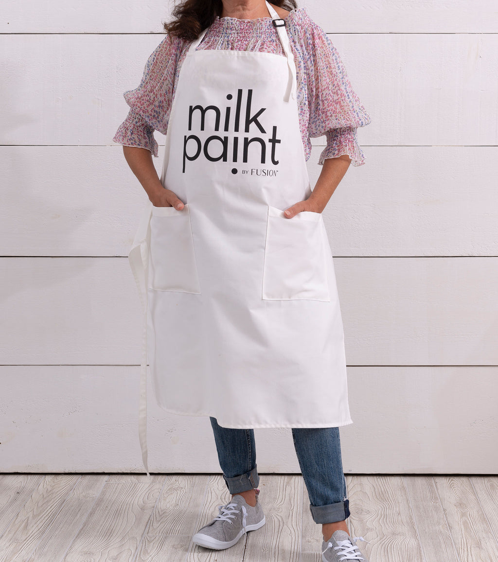 Apron - milk paint by Fusion