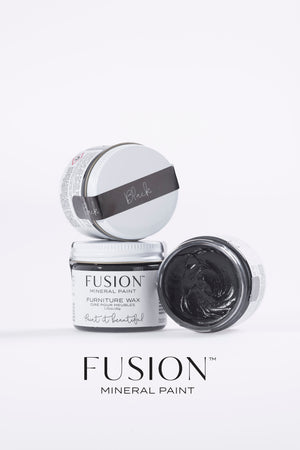 Black Wax (Furniture Wax) - Fusion Mineral Paint