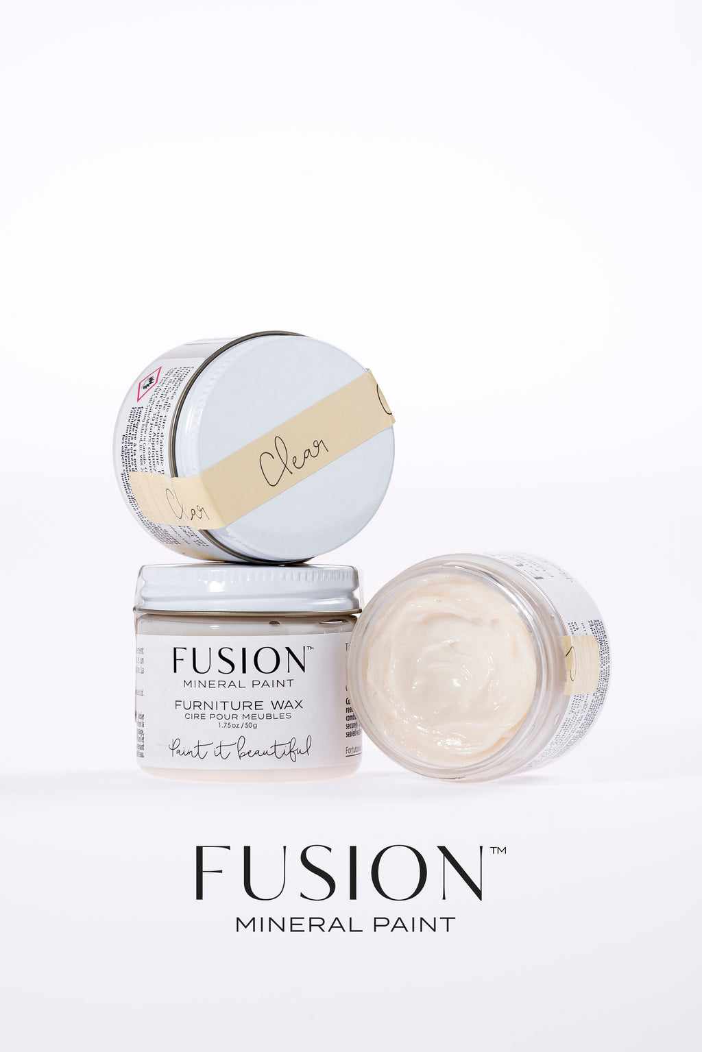 Clear Wax (Furniture Wax) - Fusion Mineral Paint