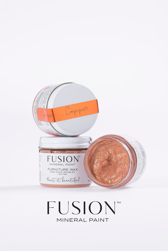 Copper Wax (Furniture Wax) - Fusion Mineral Paint