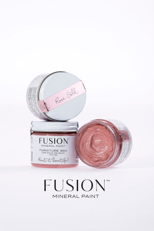 Rose Gold Wax (Furniture Wax) - Fusion Mineral Paint