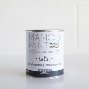 Table Top Finish - Satin - Mango Paint