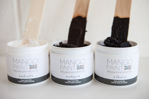 Black Beeswax - Mango Paint
