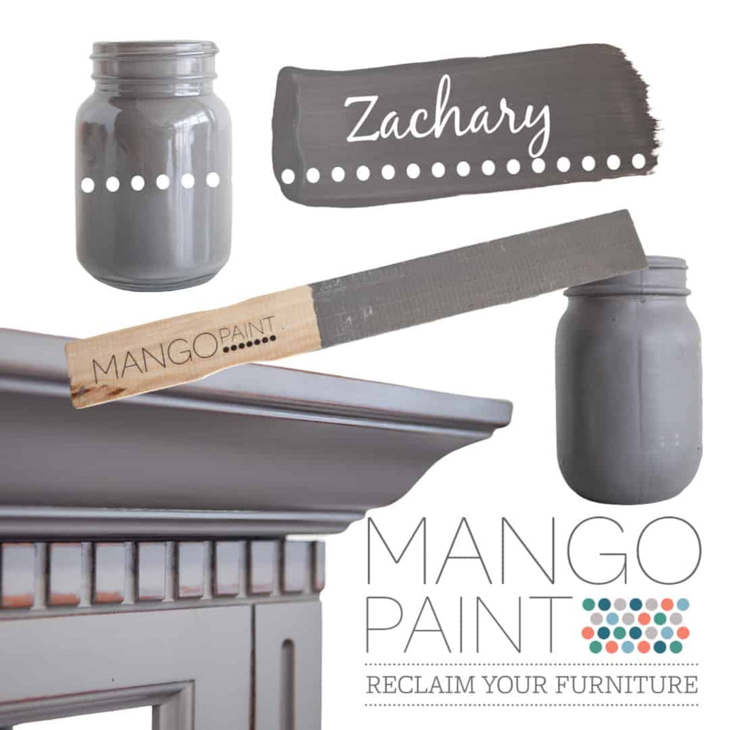 Zachary - Mango Paint
