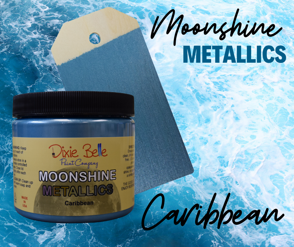 Moonshine Metallic - Caribbean - Dixie Belle Paint