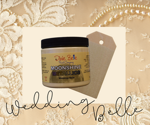 Moonshine Metallic - Wedding Belle - Dixie Belle Paint