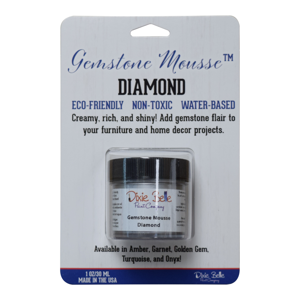 Gemstone Mousse - Diamond - Dixie Belle Paint