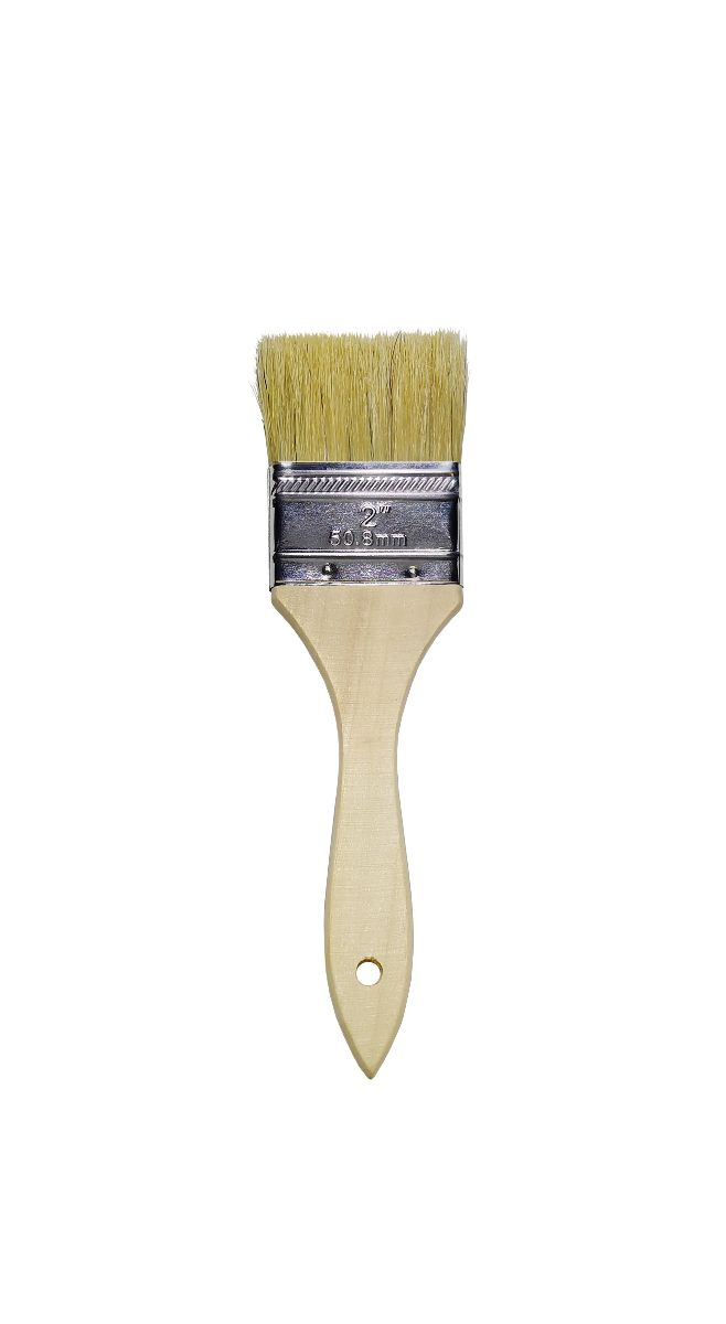 Natural Bristle Chip Brush - milk paint by Fusion
