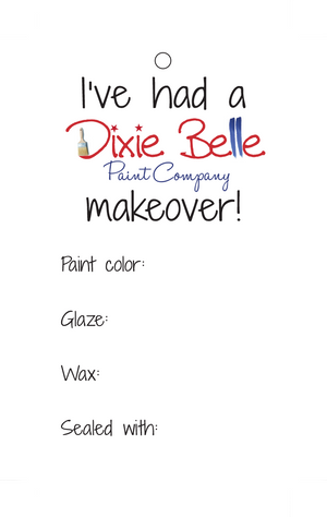Dixie Belle Price Tag - Package of 100 - Dixie Belle Paint