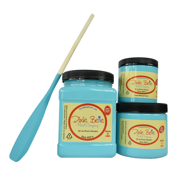 Pure Ocean Chalk Mineral Paint - Dixie Belle Paint