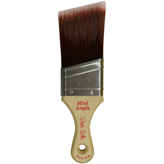 Synthetic Mini Angle Brush - Dixie Belle Paint