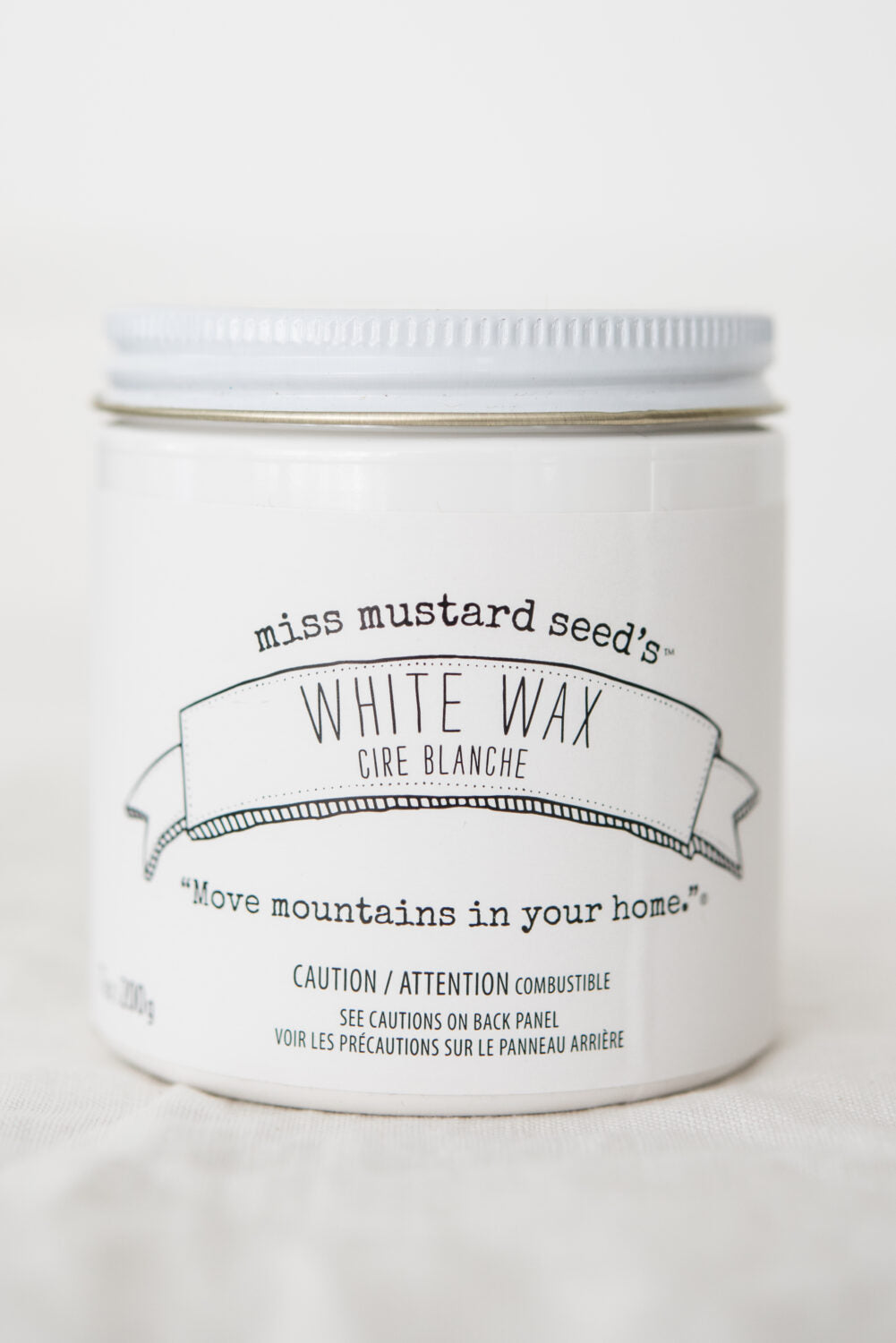 White Wax - Miss Mustard Seed's