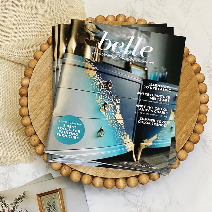 belle Magazine - Summer 2020 - issue 2 - Dixie Belle Paint