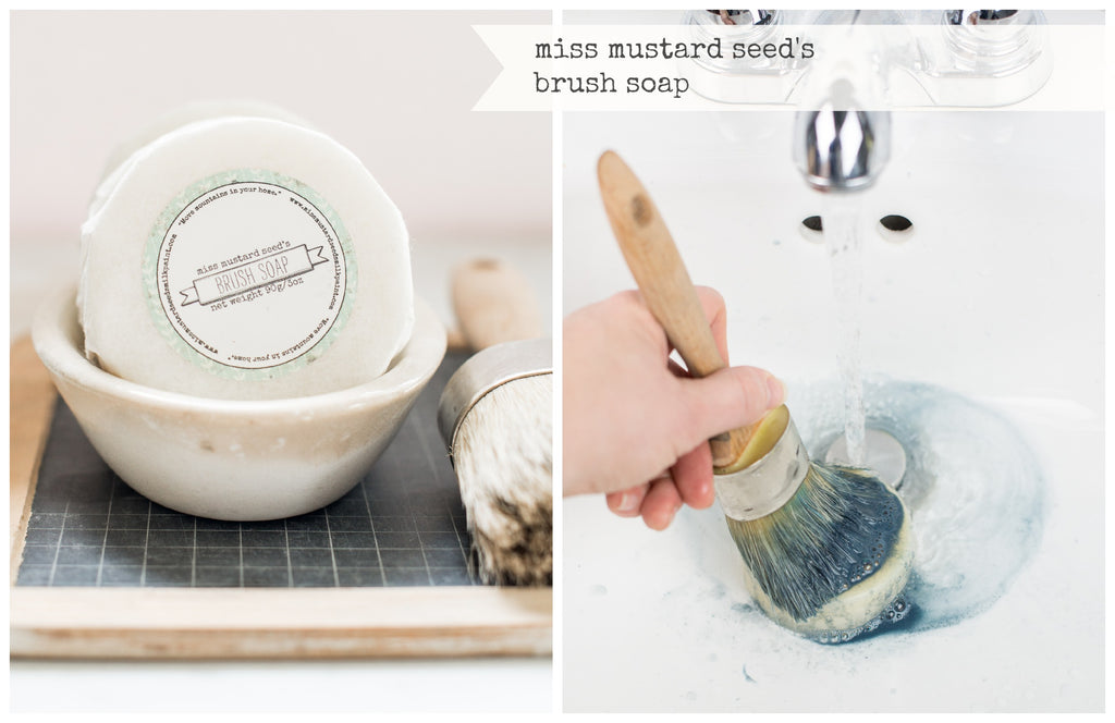 Brush Soap - Miss Mustard Seed's