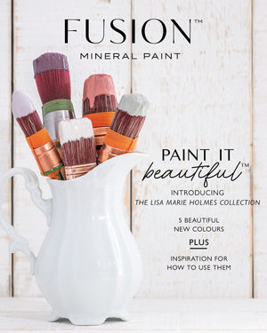 Fusion Mineral Paint Magazine - Lisa Marie Holmes Collection