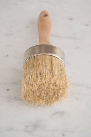 Oval Medium Wax & Paint Brush - Miss Mustard Seed's