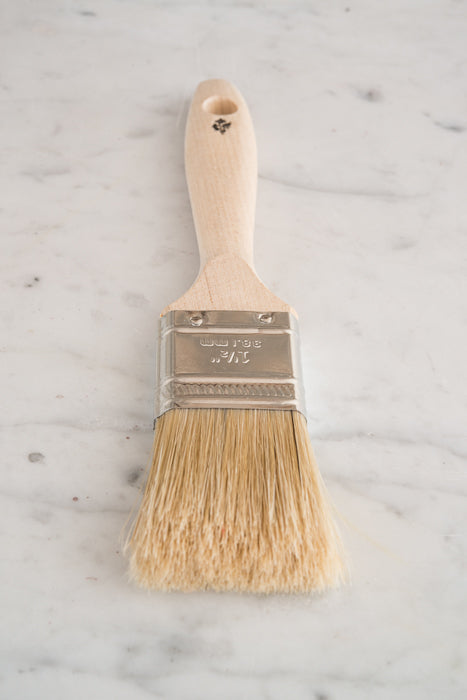 Flat Bristle Brush - Miss Mustard Seed's